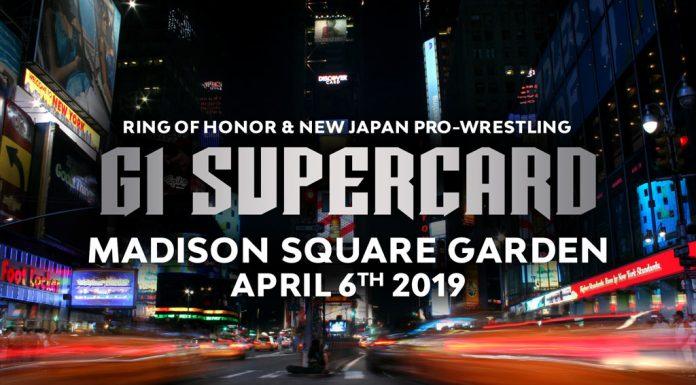 ROH/NJPW G1 Supercard Madison Square Garden