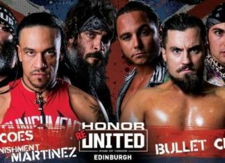 ROH Honor ReUnited Results