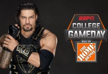 Roman Reigns ESPN GameDay Picker
