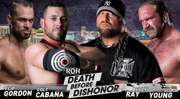 ROH Death Before Dishnor