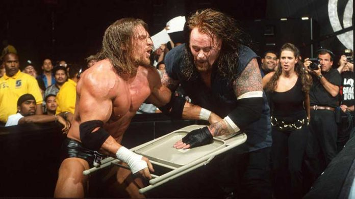 History Of The Undertaker Vs Triple H In Wwe Rob Conway