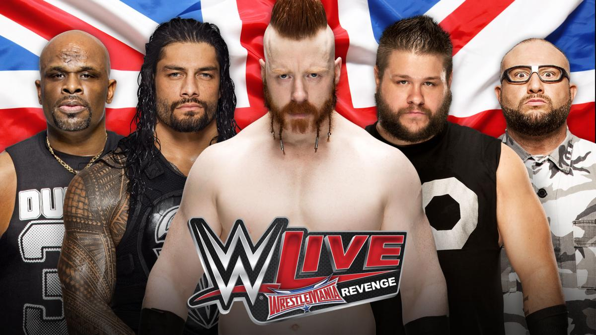 WWE's Spring 2016 European tour