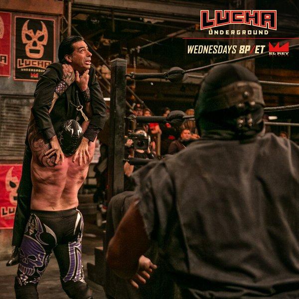 Lucha Underground on El Rey Results