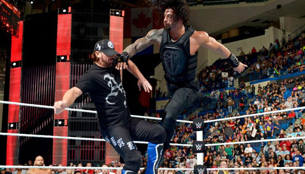 WWE RAW Results 4/25/16