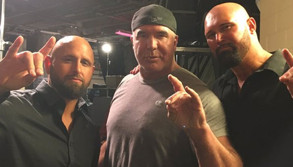 Karl Anderson and Doc Gallows