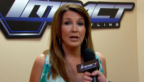 TNA President Dixie Carter