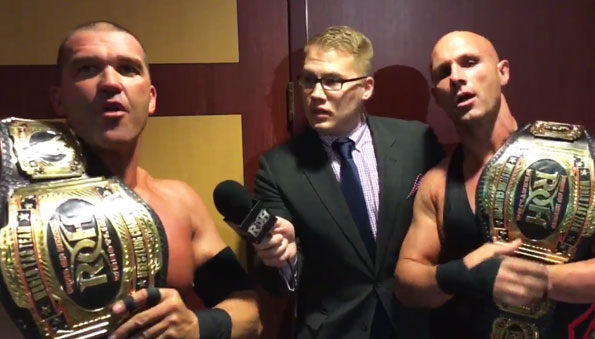Christopher Daniels and Kazarian