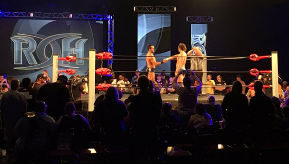 Ring of Honor TV taping results