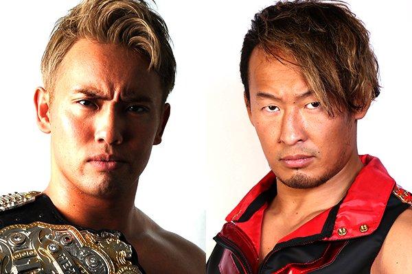 NJPW match announcements