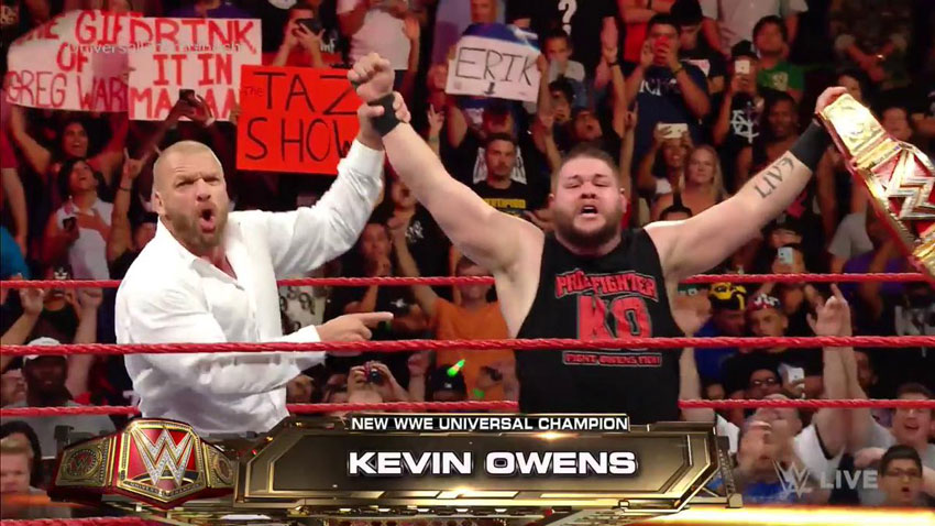WWE RAW Results - 8/29/16 (Live from Houston, Fatal 4-Way