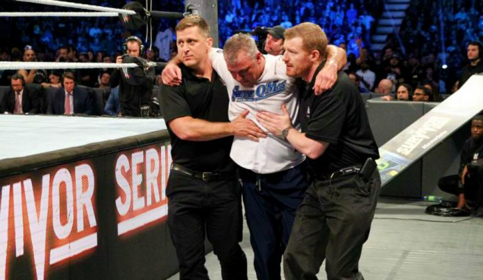 Shane McMahon Injury
