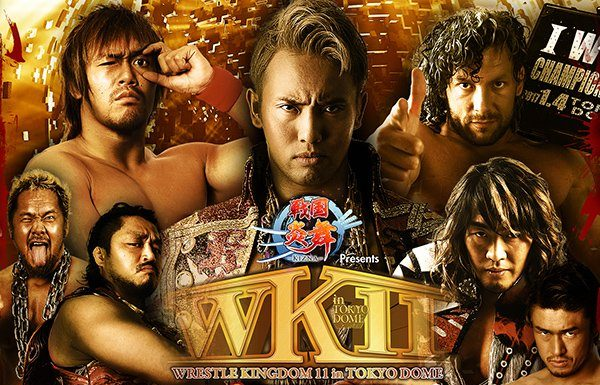 NJPW Wrestlekingdom 11 Results