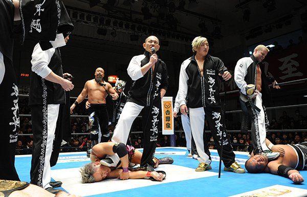 NJPW New Year's Dash iPPV Results
