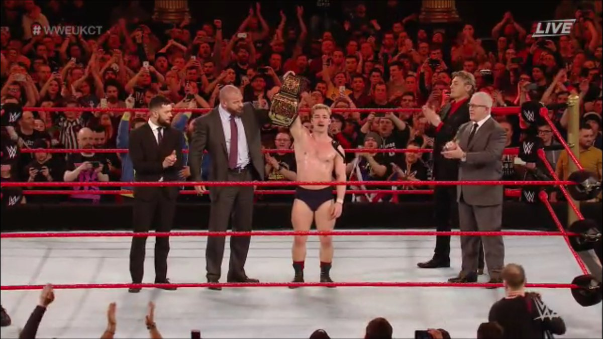 WWE United Kingdom Championship Tournament Results