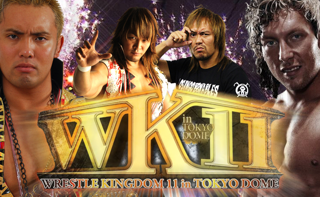 NJPW Wrestlekingdom 11 Preview