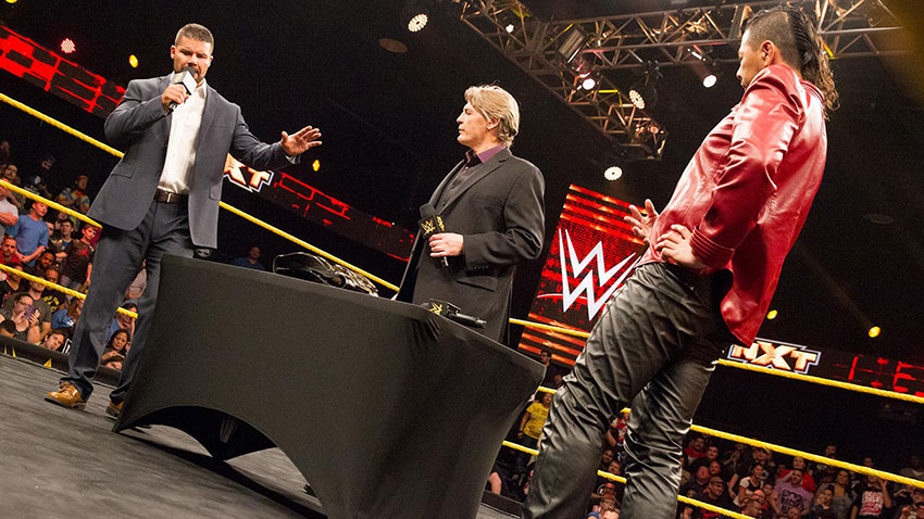 Wwe Nxt Results 1 18 17 Contract Signing Between