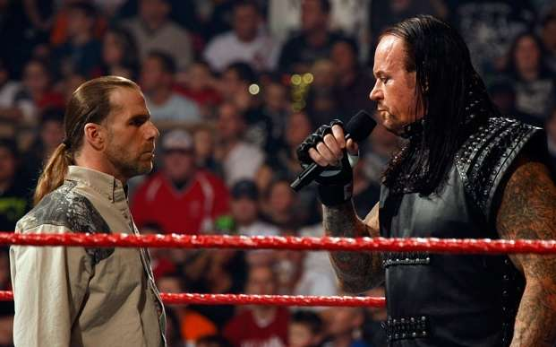 The Undertaker and Shawn Michaels
