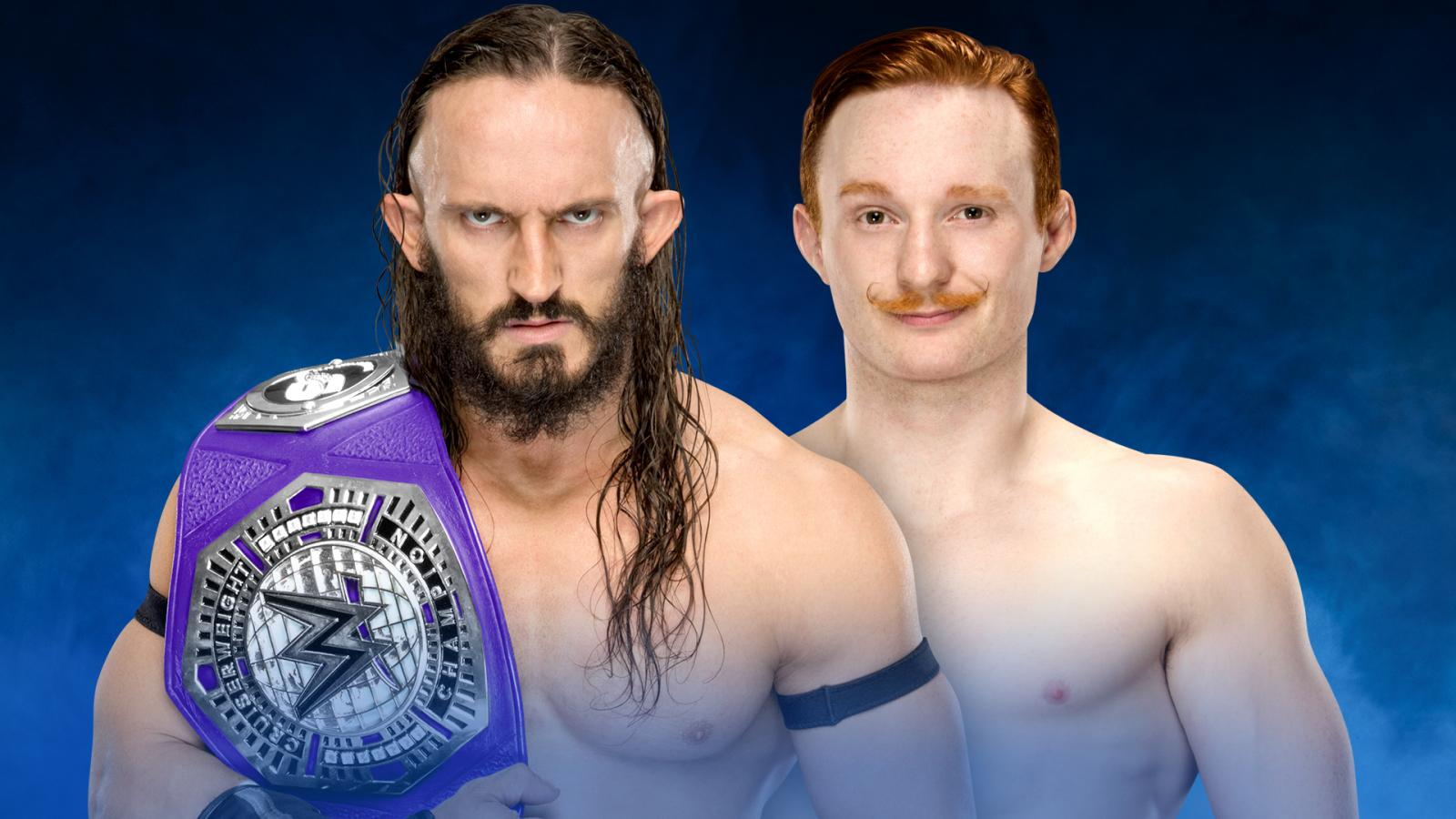 Cruiserweight Title match set for Fastlane, WWE 2K17 now on