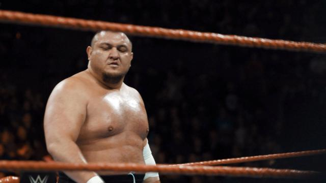 Rock comments Samoa Joe