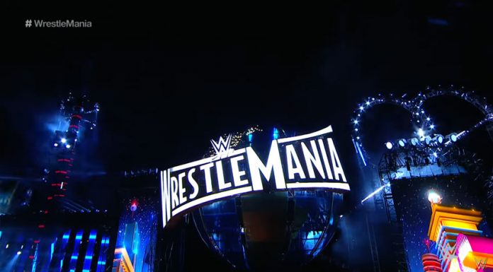 WrestleMania 33 stage
