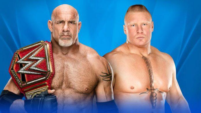 Goldberg vs Brock Lesnar Results