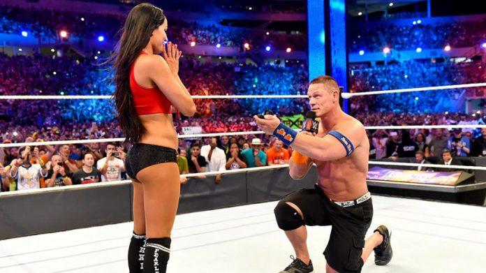John Cena proposes to Nikki Bella