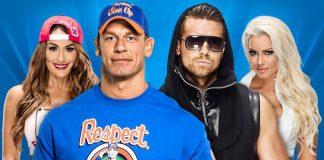 John Cena and Nikki Bella vs The Miz and Maryse