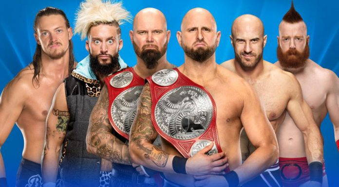 RAW Tag Team Titles Ladder Match Results