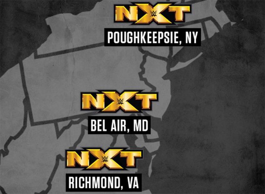 NXT dates