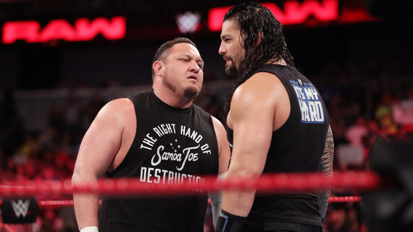 WWE RAW Results - 6/19/17 (Roman Reigns announcement) - WWE