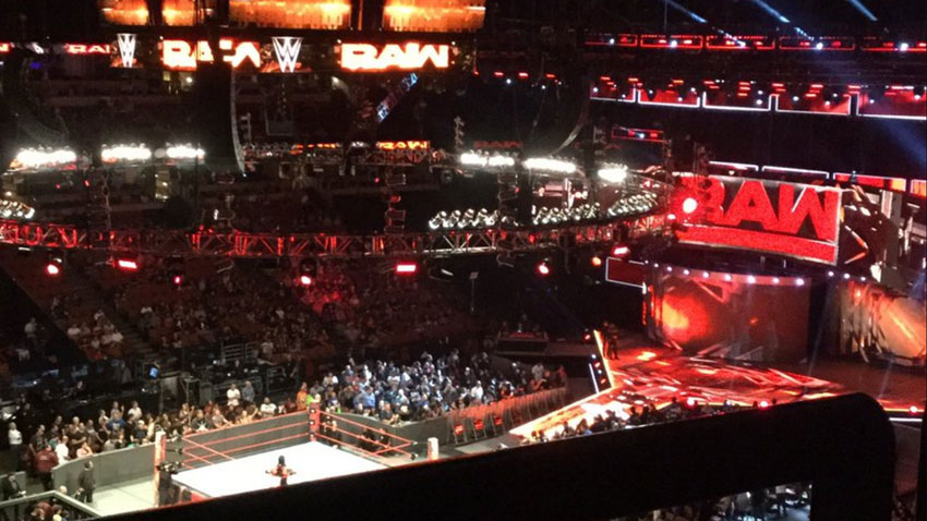 Main Event tapings