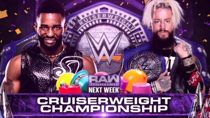 Cruiserweight Title match