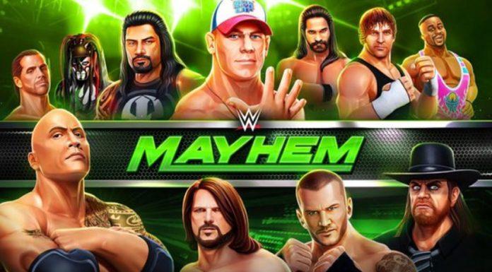 WWE mobile game