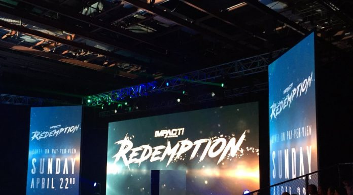 Impact TV Tapings Notes