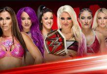 Six Woman Tag Team Match