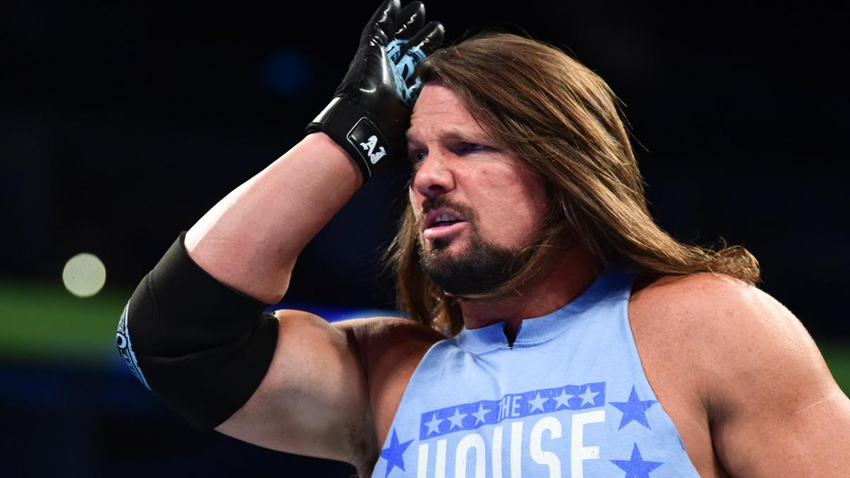 AJ Styles says injury reports were overblown, Wrestling Nakamura at WrestleMania 34 ...