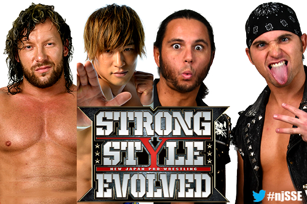 NJPW Strong Style Evolved Results