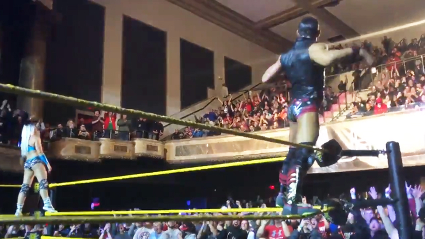 3 2 nxt live results cleveland and gainesville mixed tag ricochet