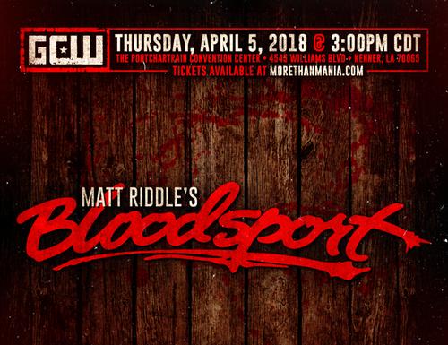 Matt Riddle's Bloodsport