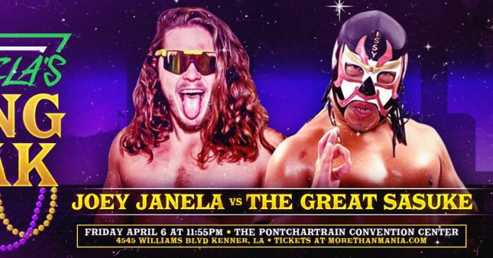 Joey Janela's Spring Break II Results