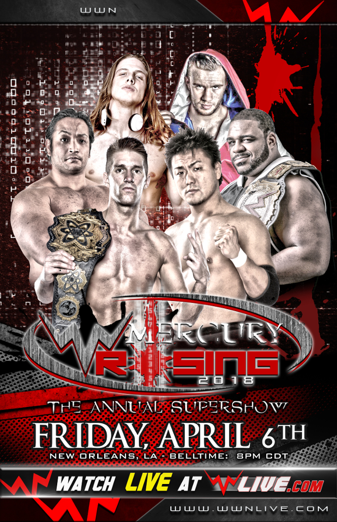 WWN Mercury Rising Results