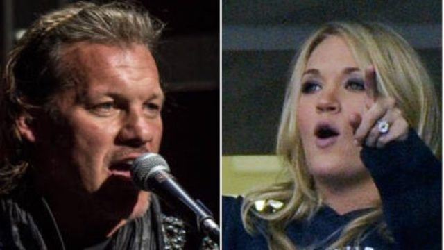 Chris Jericho and Carrie Underwood