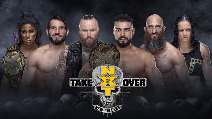 NXT TakeOver New Orleans Results
