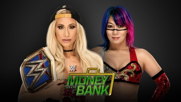 Updated Money in the bank card
