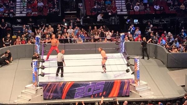 Nakamura vs Daniel Bryan
