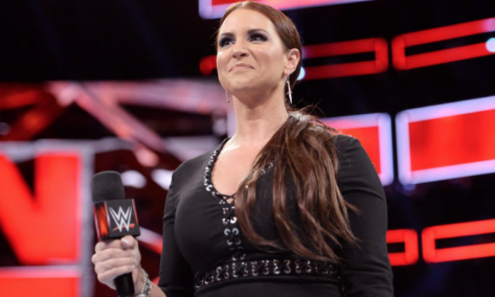 WWE Chief Brand Officer and on-screen RAW Commissioner Stephanie McMahon