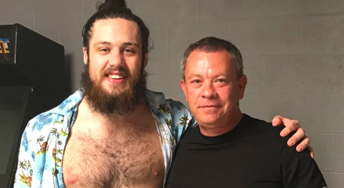 Tracy Caddell and Trevor Lee