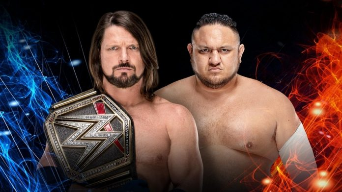 AJ Styles-Samoa Joe-Super Show-Down
