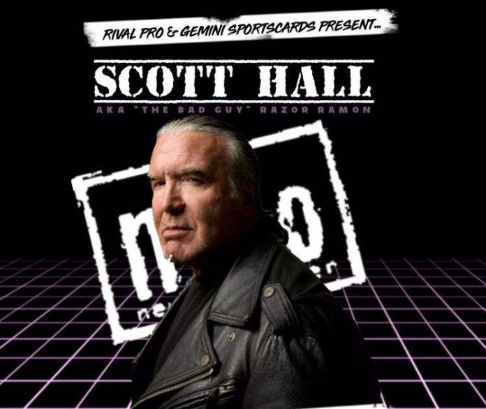 Hall was scheduled for Rival Pro's anniversary show