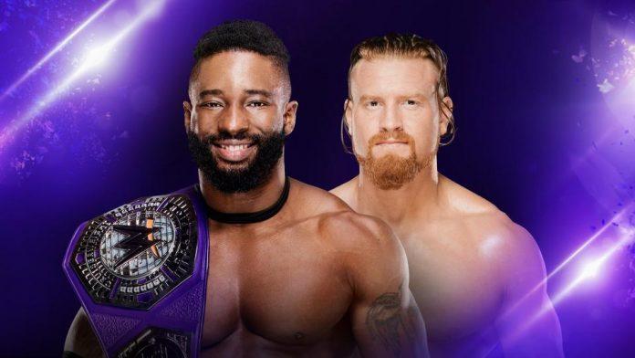 WWE Cruiserweight Championship Match